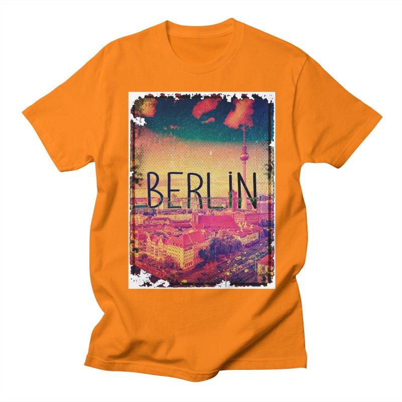 Berlin, vintage Women's Regular Unisex T-Shirt by ALMA VISUAL's Artist Shop