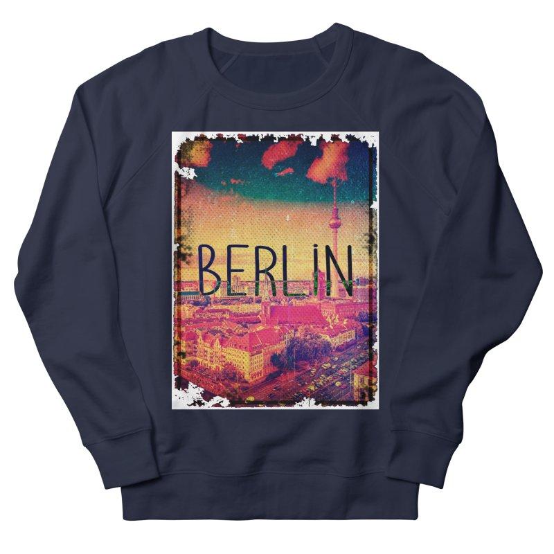 Berlin, vintage Women's Sweatshirt by ALMA VISUAL's Artist Shop