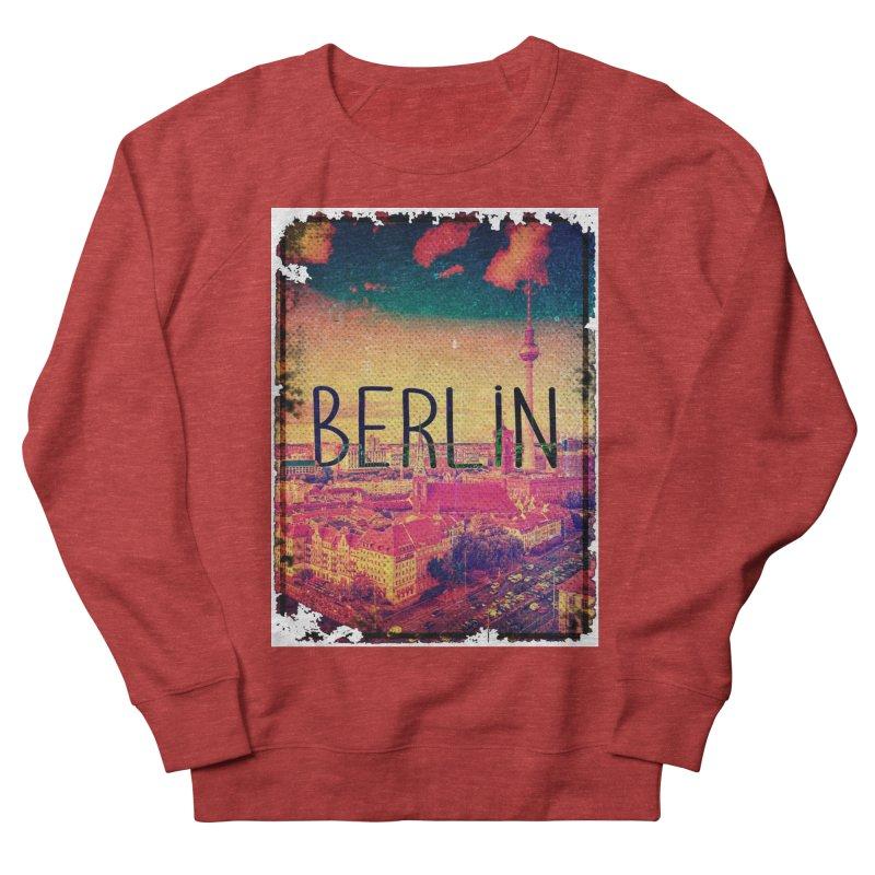 Berlin, vintage Men's Sweatshirt by ALMA VISUAL's Artist Shop