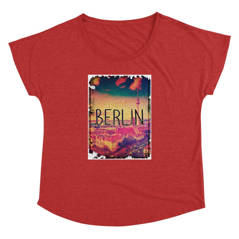 Berlin, vintage Women's Dolman by ALMA VISUAL's Artist Shop