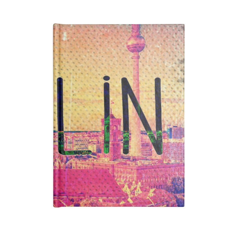 Berlin, vintage Accessories Notebook by ALMA VISUAL's Artist Shop
