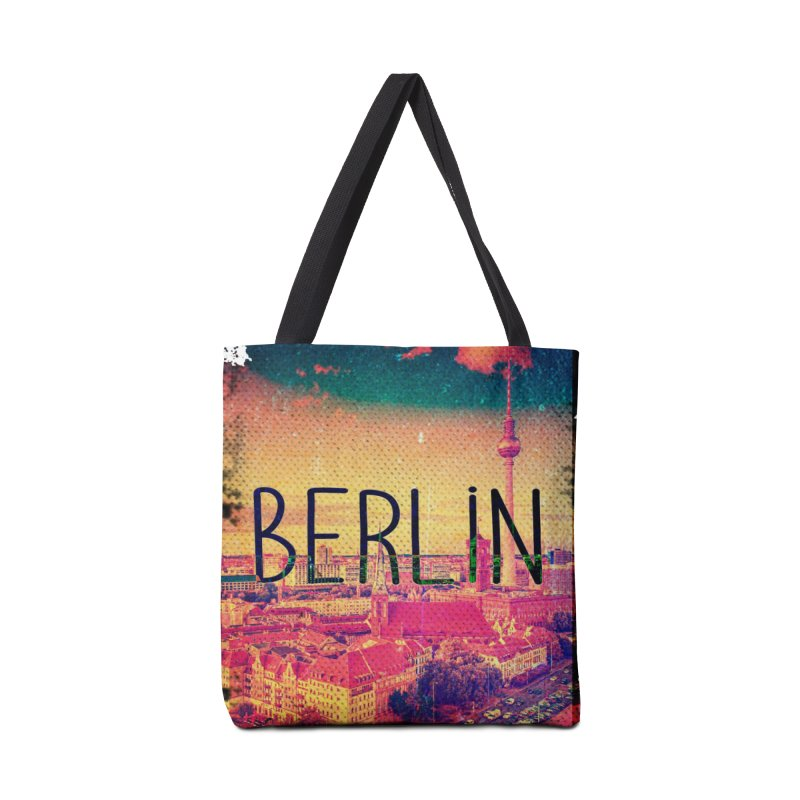 Berlin, vintage Accessories Bag by ALMA VISUAL's Artist Shop