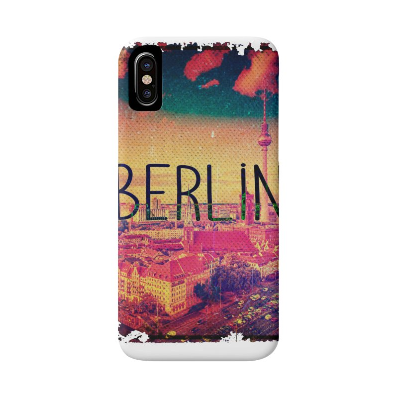 Berlin, vintage Accessories Phone Case by ALMA VISUAL's Artist Shop