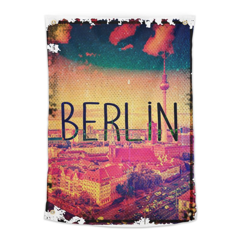 Berlin, vintage Home Tapestry by ALMA VISUAL's Artist Shop
