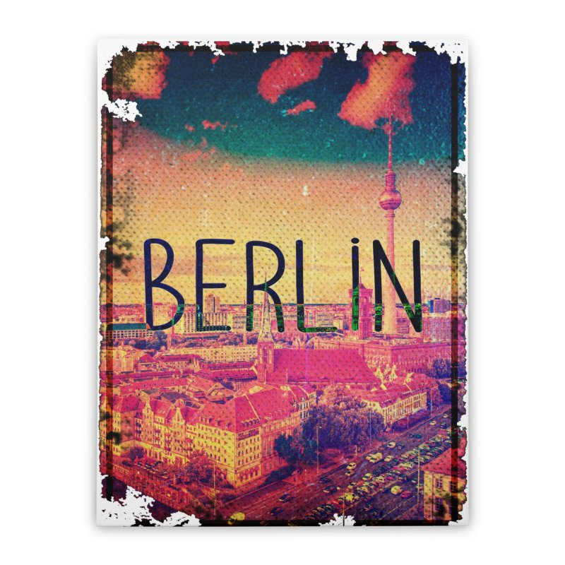 Berlin, vintage Home Stretched Canvas by ALMA VISUAL's Artist Shop