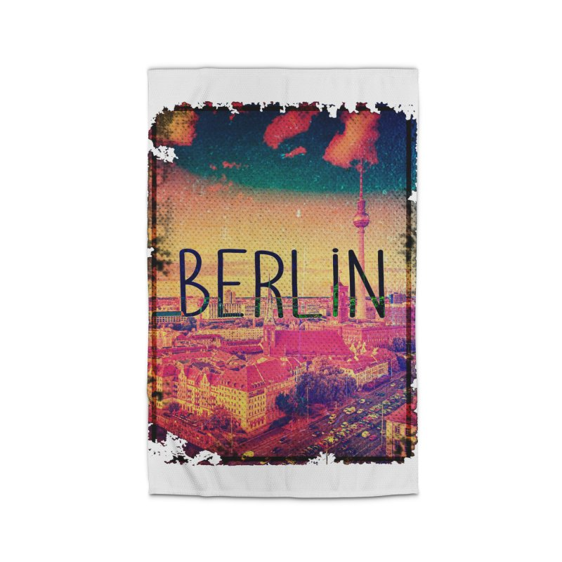 Berlin, vintage Home Rug by ALMA VISUAL's Artist Shop