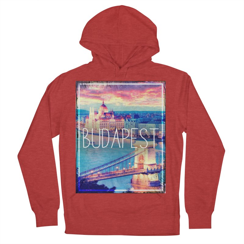 Budapest, Hungary, vintage Women's Pullover Hoody by ALMA VISUAL's Artist Shop