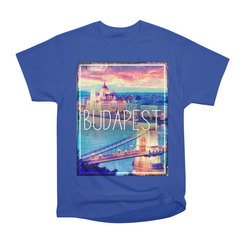 Budapest, Hungary, vintage Men's Classic T-Shirt by ALMA VISUAL's Artist Shop