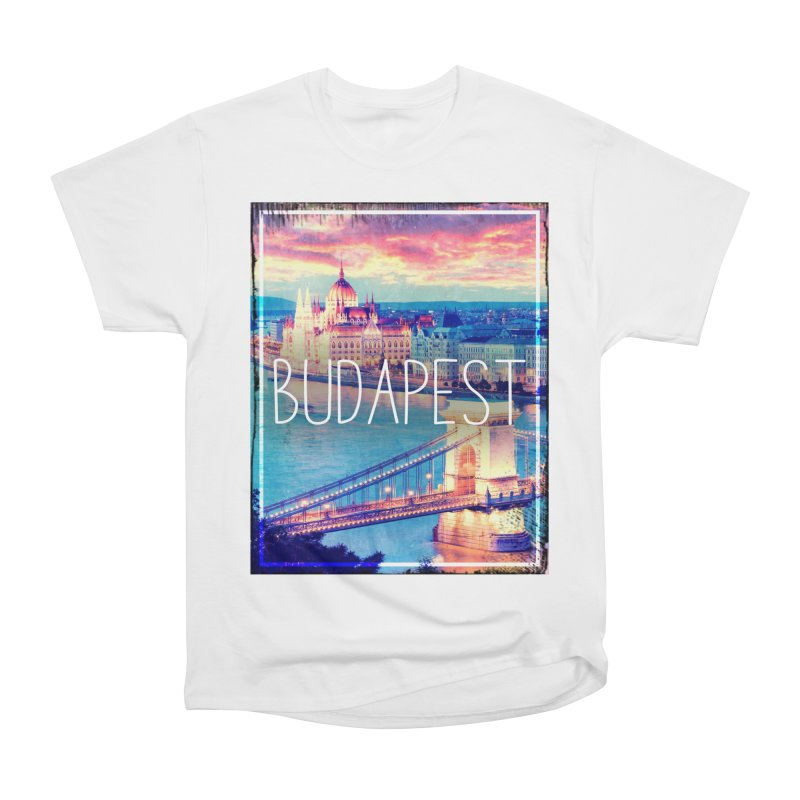 Budapest, Hungary, vintage Women's Heavyweight Unisex T-Shirt by ALMA VISUAL's Artist Shop