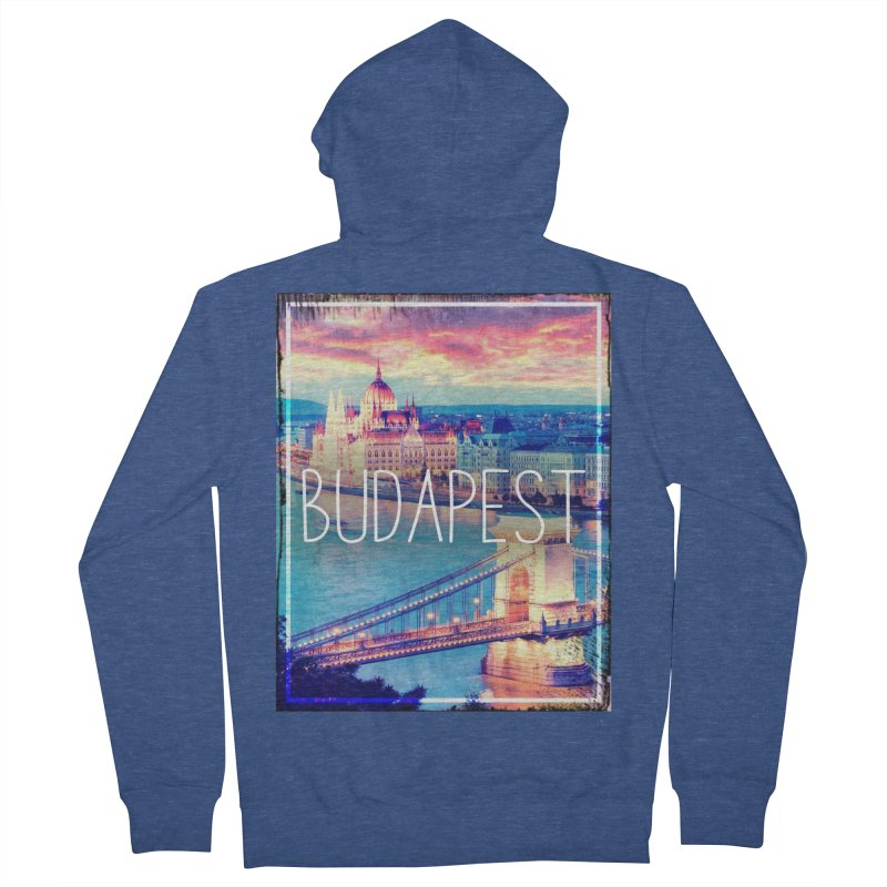 Budapest, Hungary, vintage Women's Zip-Up Hoody by ALMA VISUAL's Artist Shop