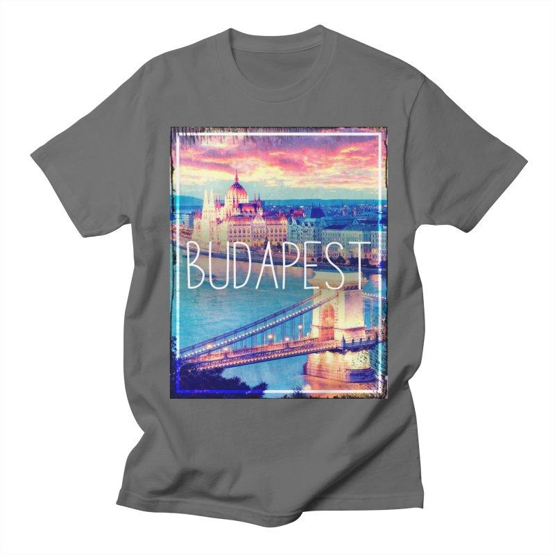 Budapest, Hungary, vintage Men's T-Shirt by ALMA VISUAL's Artist Shop