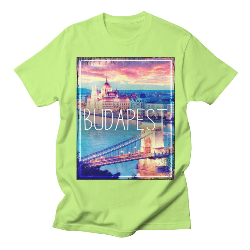 Budapest, Hungary, vintage Men's T-Shirt by ALMA VISUAL's Artist Shop