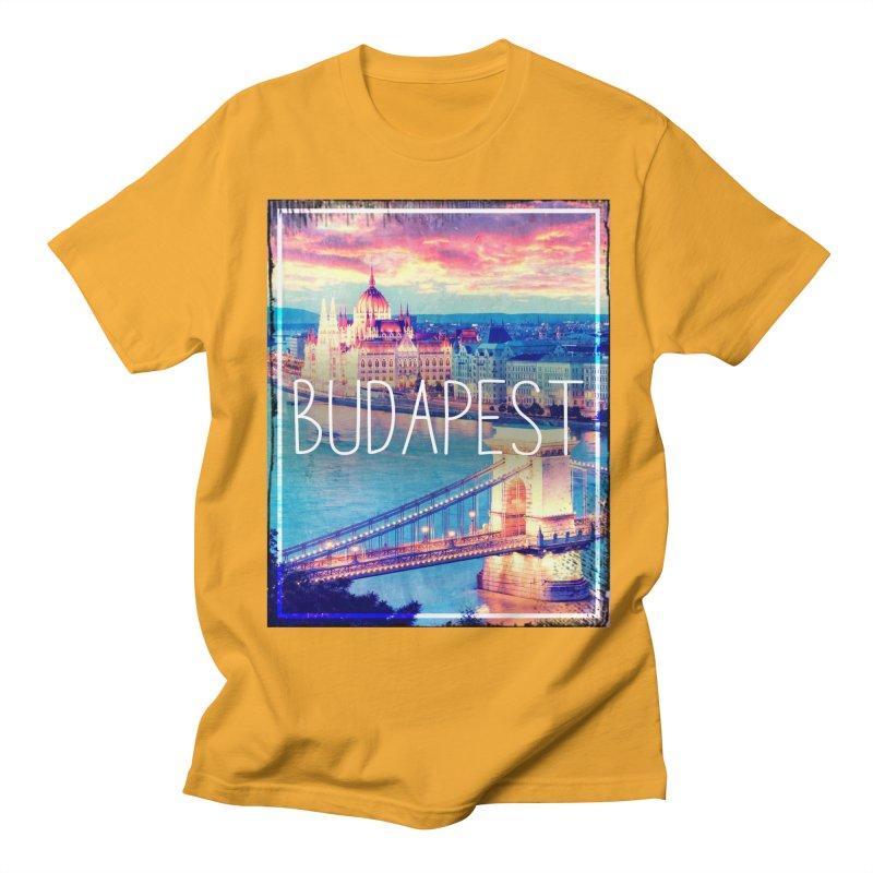 Budapest, Hungary, vintage Women's Unisex T-Shirt by ALMA VISUAL's Artist Shop