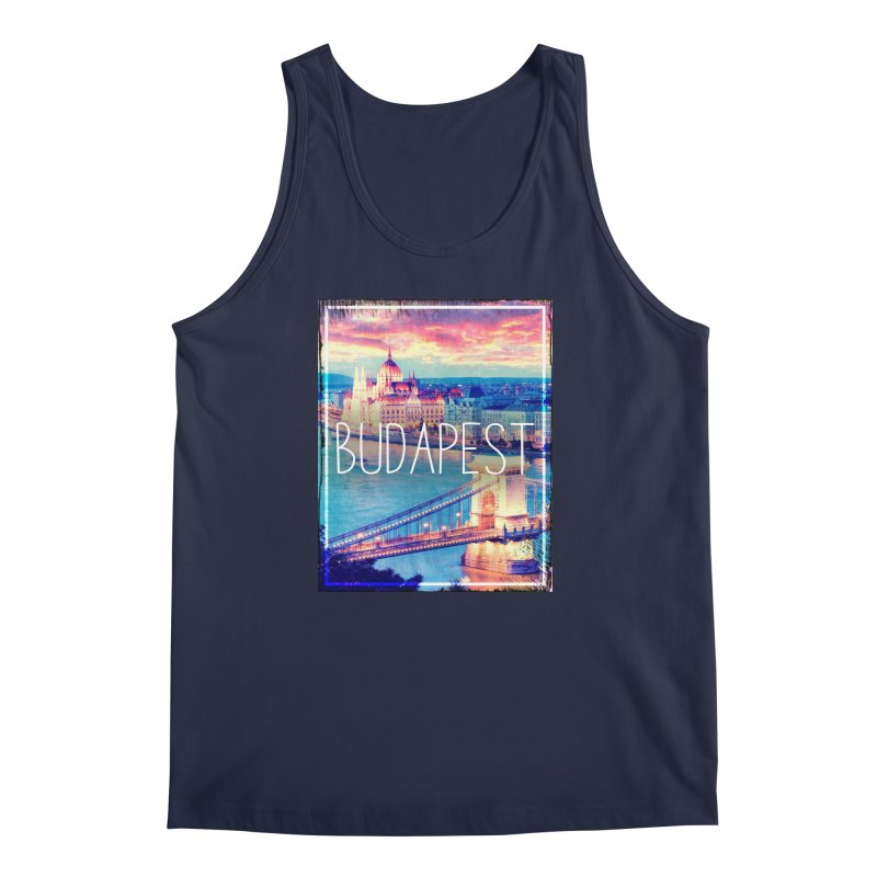 Budapest, Hungary, vintage Men's Tank by ALMA VISUAL's Artist Shop