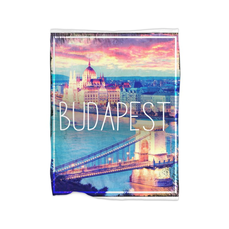 Budapest, Hungary, vintage Home Blanket by ALMA VISUAL's Artist Shop