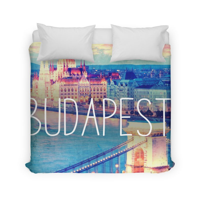 Budapest, Hungary, vintage Home Duvet by ALMA VISUAL's Artist Shop