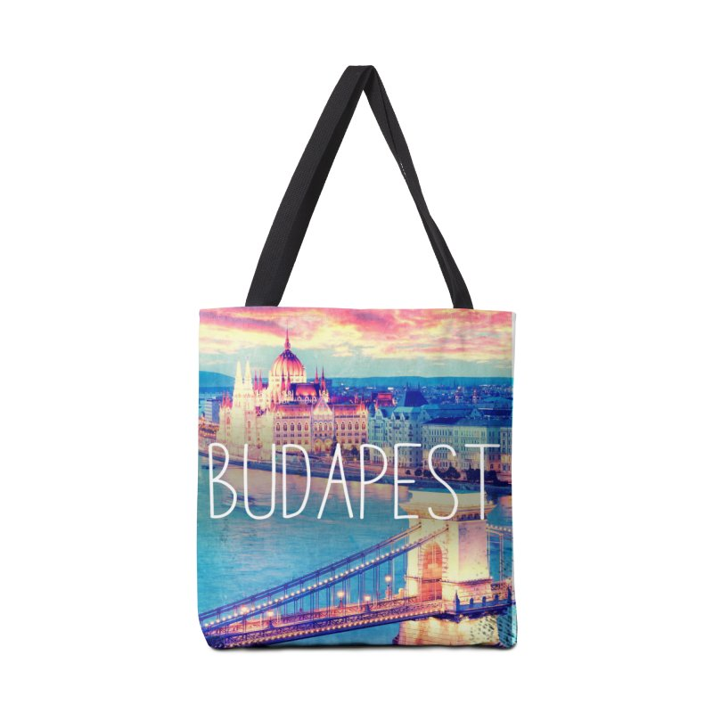 Budapest, Hungary, vintage Accessories Tote Bag Bag by ALMA VISUAL's Artist Shop