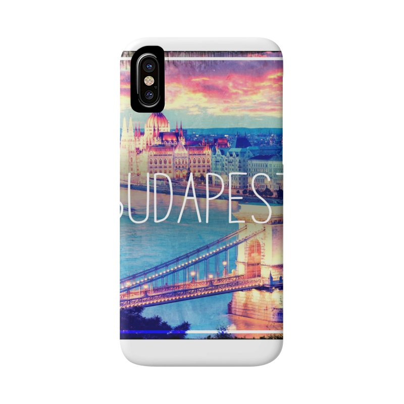 Budapest, Hungary, vintage Accessories Phone Case by ALMA VISUAL's Artist Shop