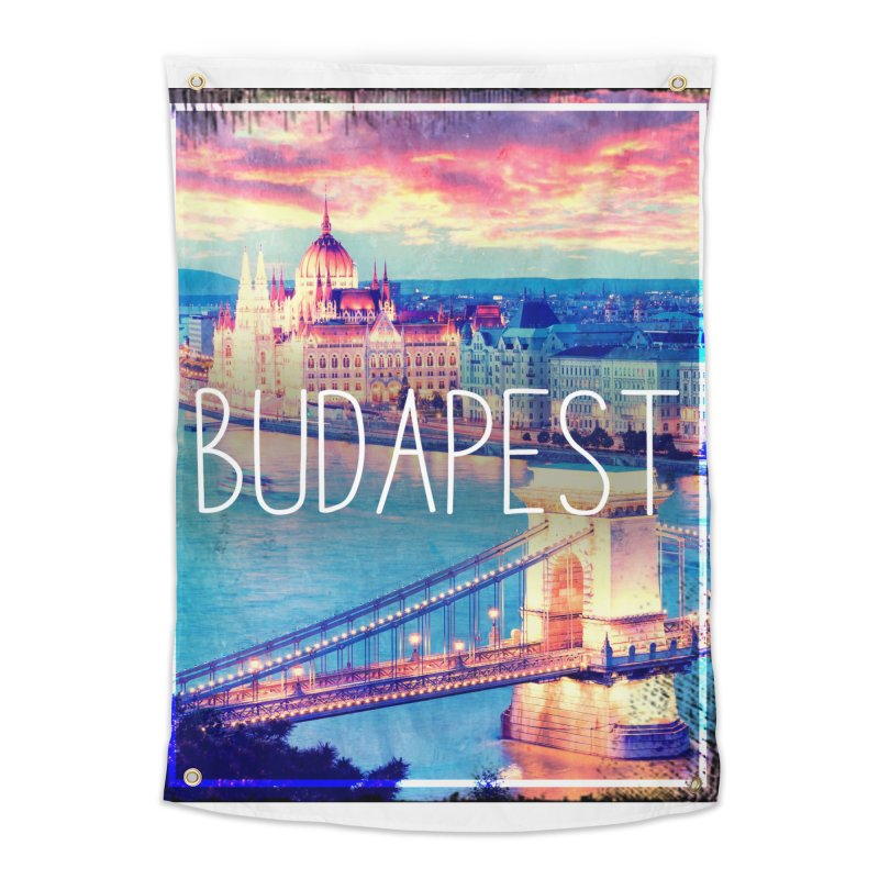 Budapest, Hungary, vintage Home Tapestry by ALMA VISUAL's Artist Shop