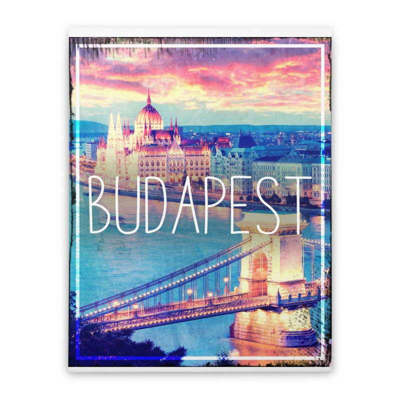 Budapest, Hungary, vintage Home Stretched Canvas by ALMA VISUAL's Artist Shop