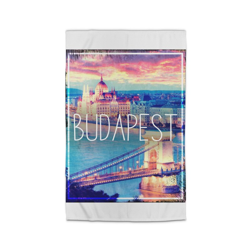 Budapest, Hungary, vintage Home Rug by ALMA VISUAL's Artist Shop