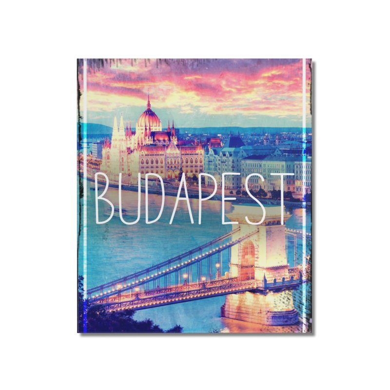 Budapest, Hungary, vintage Home Mounted Acrylic Print by ALMA VISUAL's Artist Shop