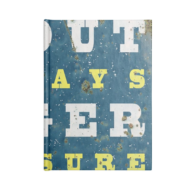 Beer always, metal background poster Accessories Notebook by ALMA VISUAL's Artist Shop