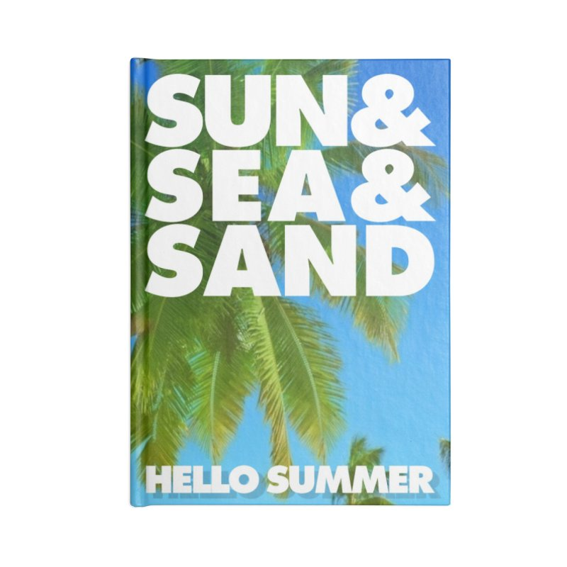 Hello Summer Accessories Notebook by ALMA VISUAL's Artist Shop