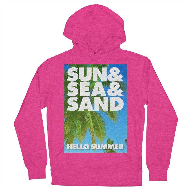 Hello Summer Women's Pullover Hoody by ALMA VISUAL's Artist Shop