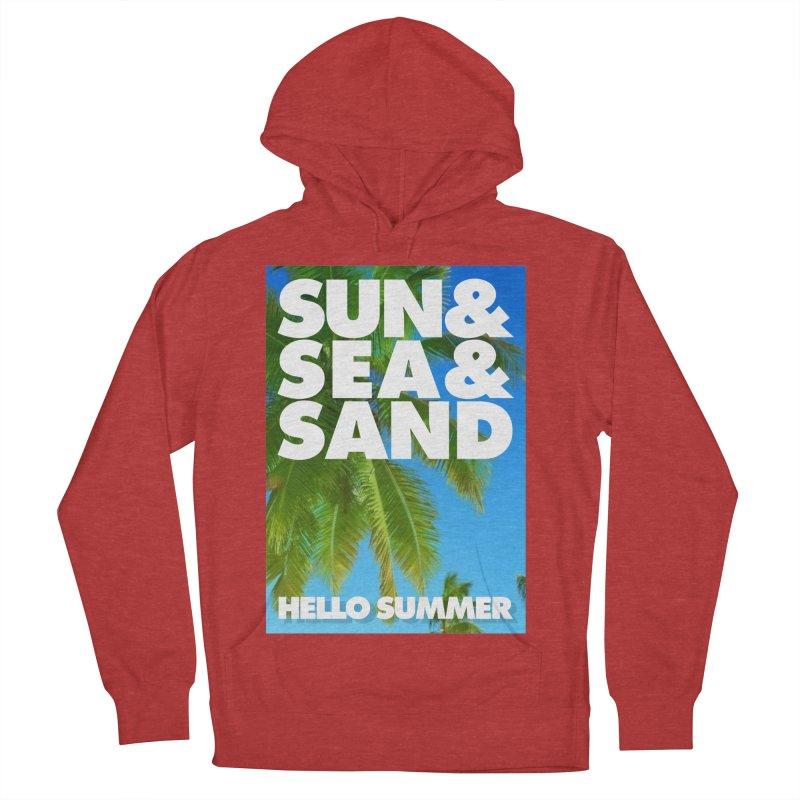 Hello Summer Men's Pullover Hoody by ALMA VISUAL's Artist Shop