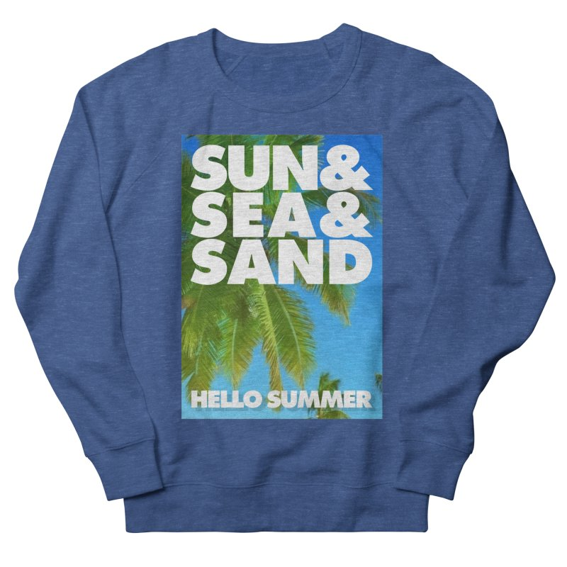 Hello Summer Men's Sweatshirt by ALMA VISUAL's Artist Shop