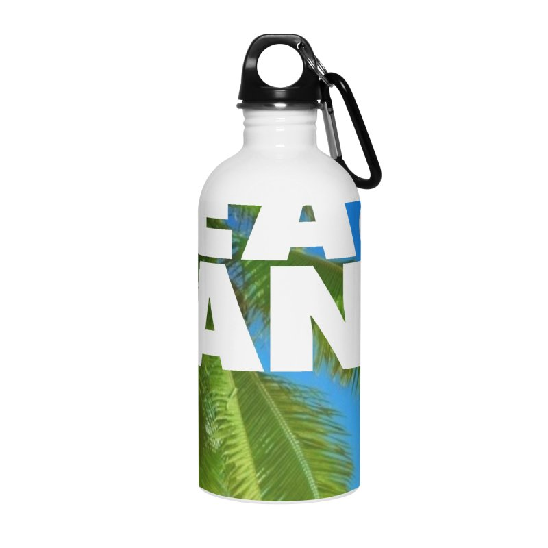Hello Summer Accessories Water Bottle by ALMA VISUAL's Artist Shop