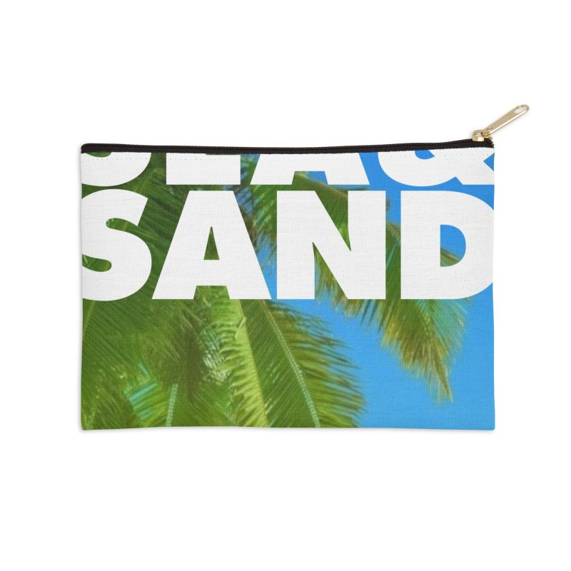 Hello Summer Accessories Zip Pouch by ALMA VISUAL's Artist Shop