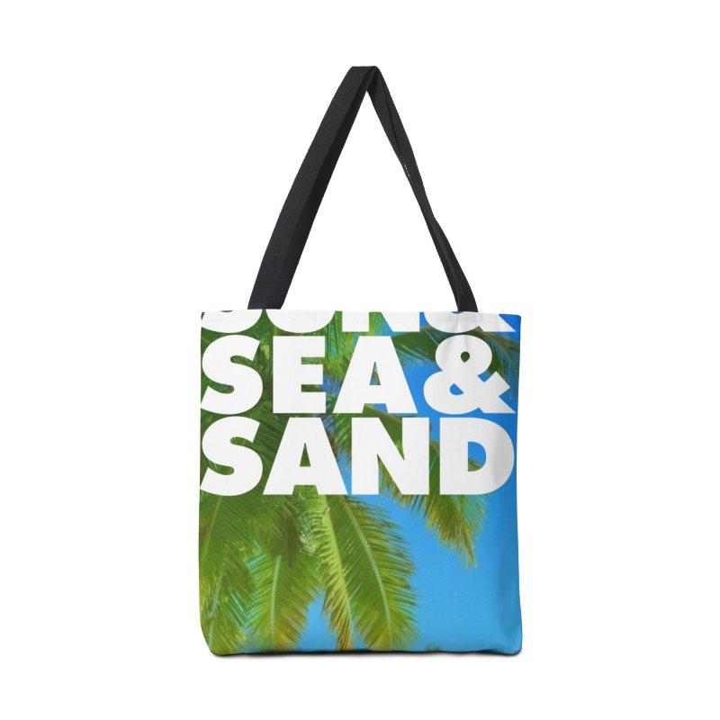 Hello Summer Accessories Bag by ALMA VISUAL's Artist Shop