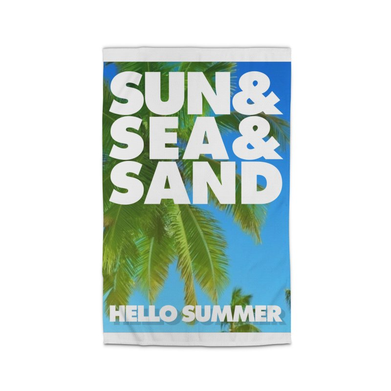 Hello Summer Home Rug by ALMA VISUAL's Artist Shop