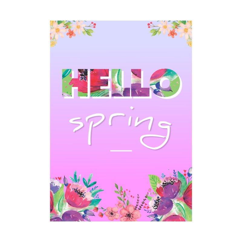 Hello Spring by ALMA VISUAL's Artist Shop