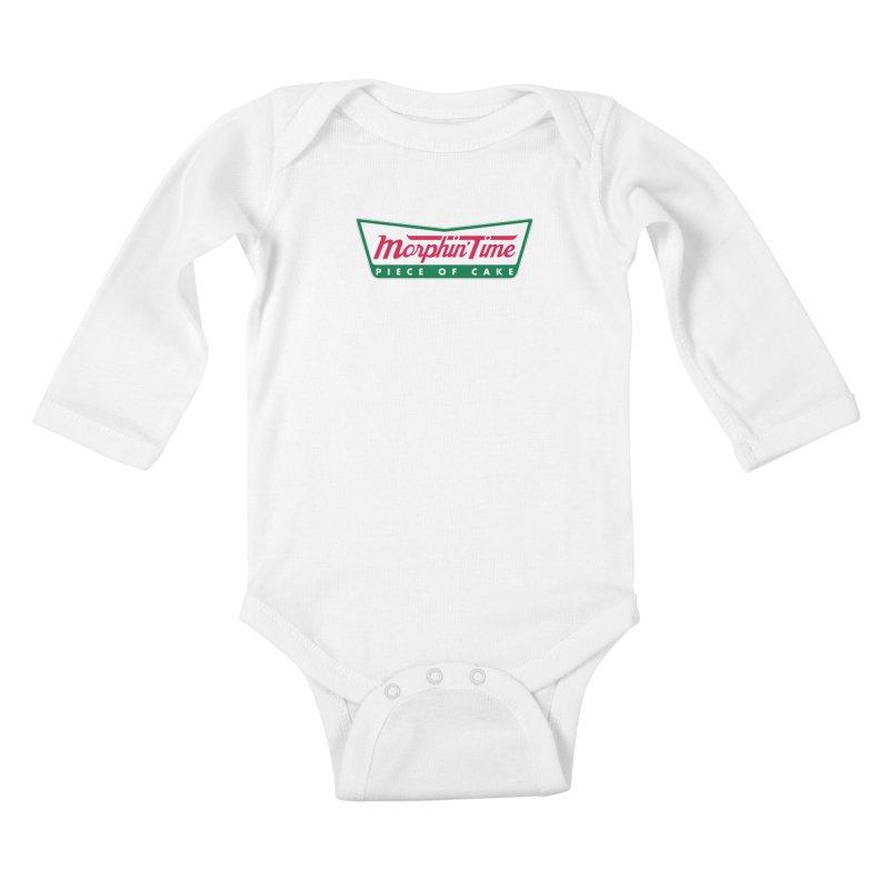 Krispy Rangers Kids Baby Longsleeve Bodysuit by AMODesign's Artist Shop