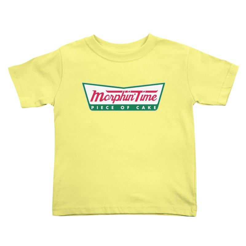 Krispy Rangers Kids Toddler T-Shirt by AMODesign's Artist Shop