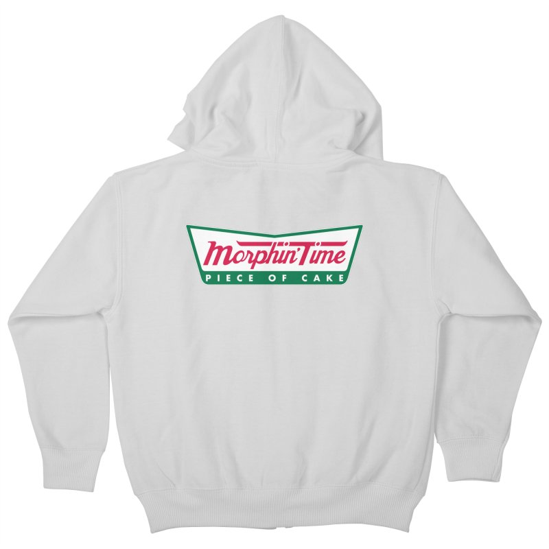 Krispy Rangers Kids Zip-Up Hoody by AMODesign's Artist Shop