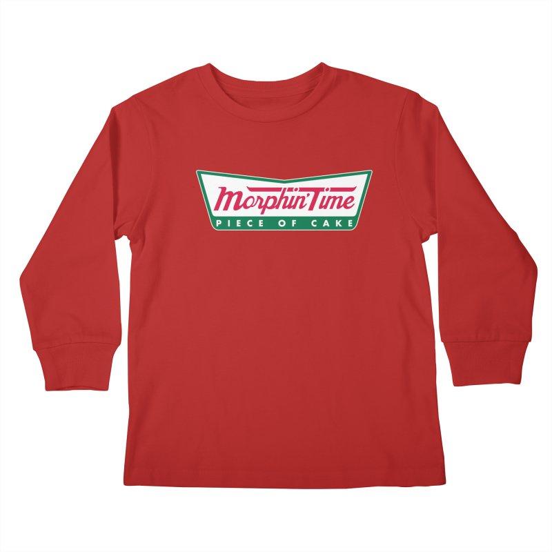 Krispy Rangers Kids Longsleeve T-Shirt by AMODesign's Artist Shop