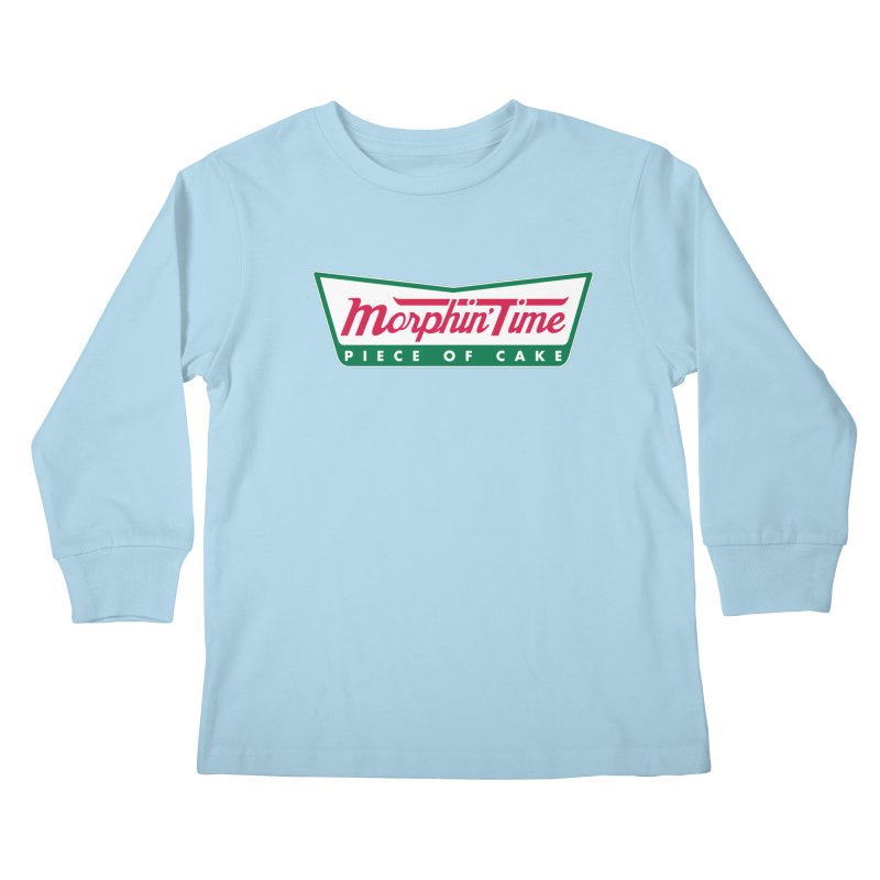 Krispy Rangers Kids Longsleeve T-Shirt by AMODesign's Artist Shop