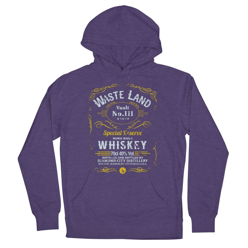 Wasteland Whiskey - distressed Women's Pullover Hoody by AMODesign's Artist Shop