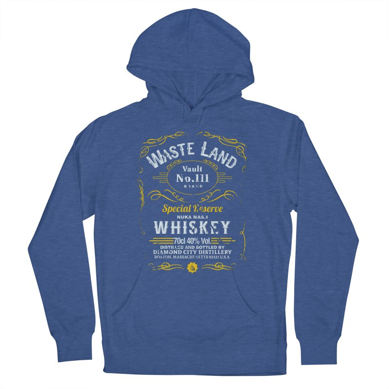 Wasteland Whiskey - distressed Men's Pullover Hoody by AMODesign's Artist Shop