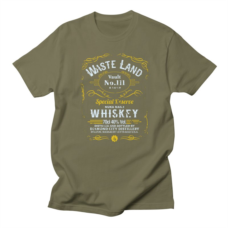 Wasteland Whiskey - distressed Women's Unisex T-Shirt by AMODesign's Artist Shop