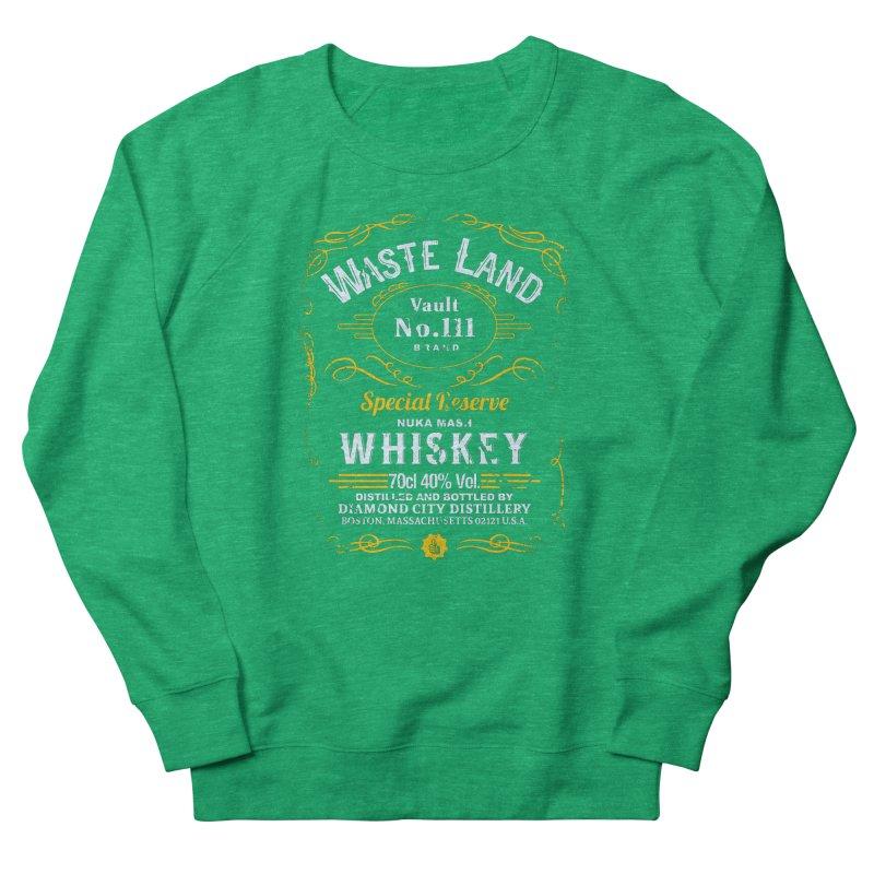 Wasteland Whiskey - distressed Women's Sweatshirt by AMODesign's Artist Shop