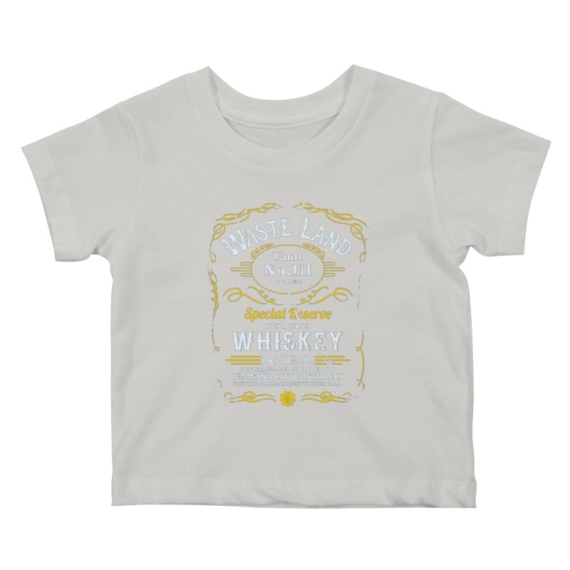 Wasteland Whiskey - distressed Kids Baby T-Shirt by AMODesign's Artist Shop