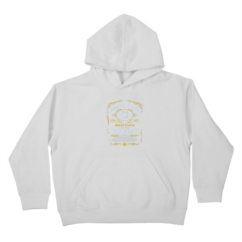 Wasteland Whiskey - distressed Kids Pullover Hoody by AMODesign's Artist Shop