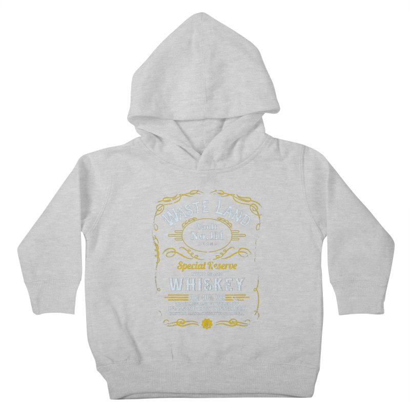Wasteland Whiskey - distressed Kids Toddler Pullover Hoody by AMODesign's Artist Shop