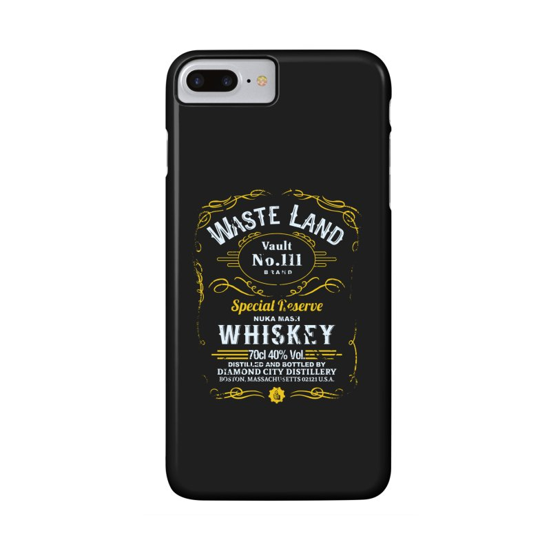 Wasteland Whiskey - distressed Accessories Phone Case by AMODesign's Artist Shop