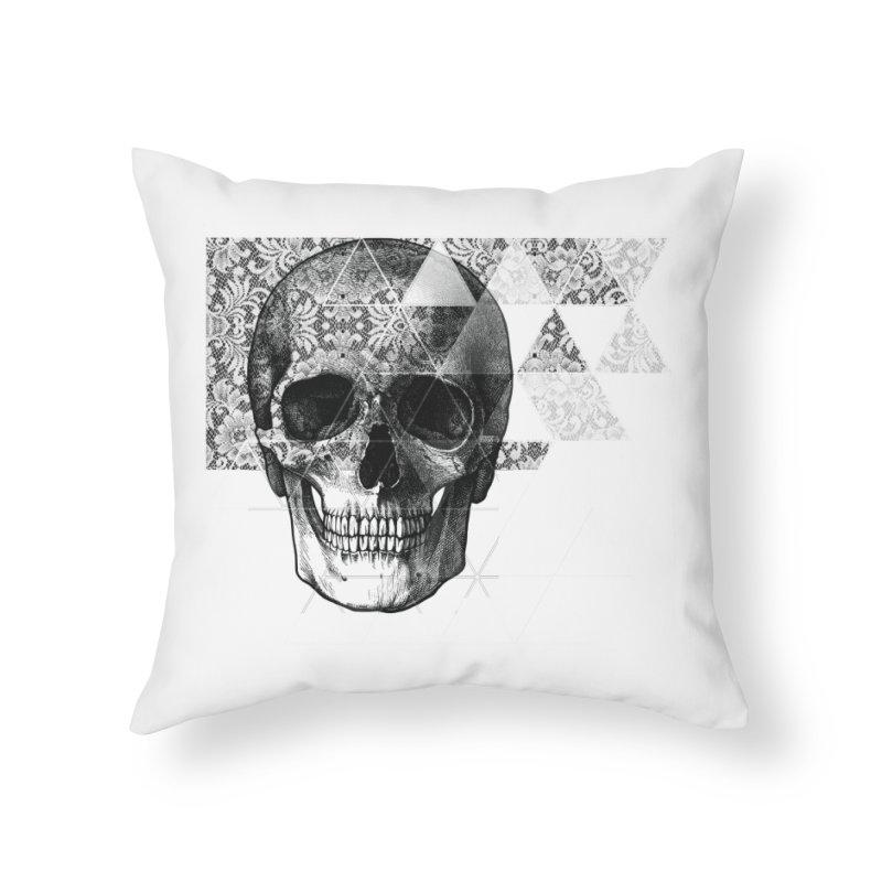 Dias de los Geomuertos Home Throw Pillow by ANTHROPOLESLEY